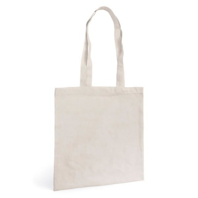 Sac shopping publicitaire Coton Blanc