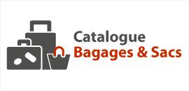 Catalogue bagages et sacs personnalisés publicitaires