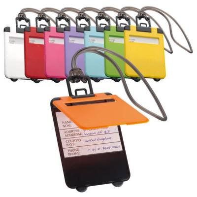 étiquette valise bagage sac publicitaire pas cher