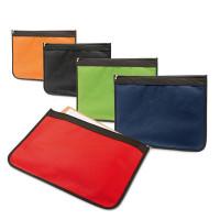 Pochette navette Porte documents noir, bleu, vert, orange, rouge pas cher personnalisable