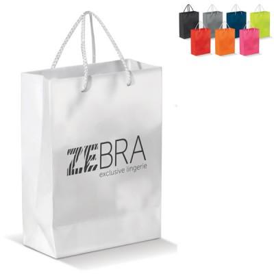 sac papier A4 couleur publicitaire Dimensions : 24 x 8 x 18 cm