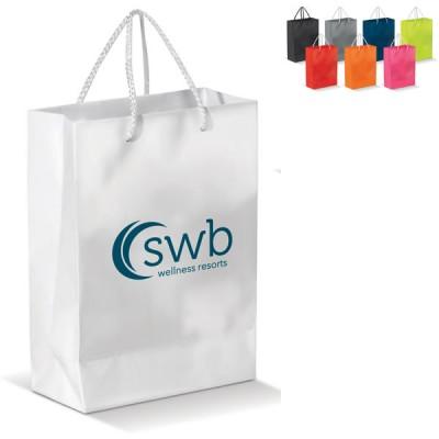 sac papier A4 couleur publicitaire Dimensions : 30 x 12 x 40 cm