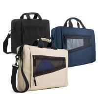 Sacoche porte-documents noir, bleu ou beige personanlisé