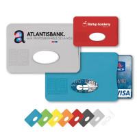 Etui porte carte bancaire anti RFID objet publicitaire gooddies