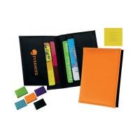 Porte Carte bancaire Anti RFID (anti fraude paiement sans contact) publicitaire personnalisé 4 rangements carte de crédit Couleur : noir bleu vert orange violet