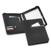 Conférencier a4 personnalisable avec classeur et porte-documents