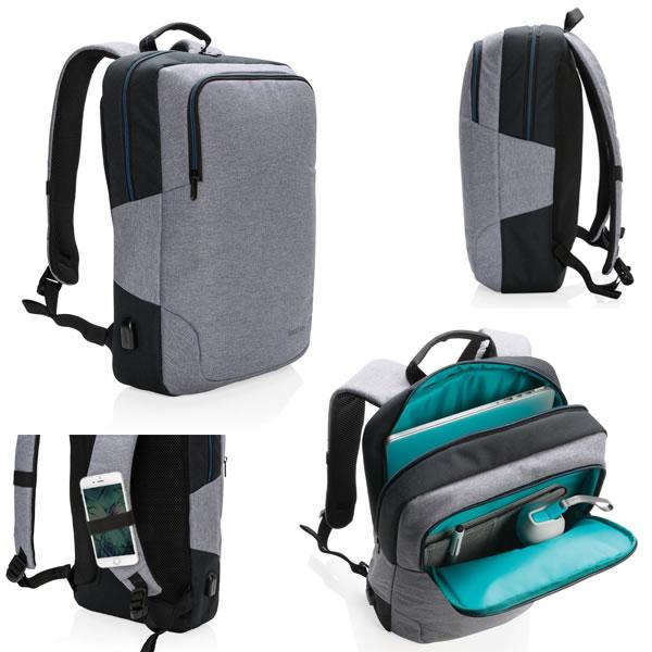 35da1396a5e Sac à dos ordinateur portable 15 pouces original personnalisable  publicitaire