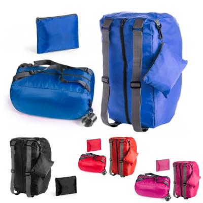 Grand sac de sport et à dos personnalisable et pliable publicitaire