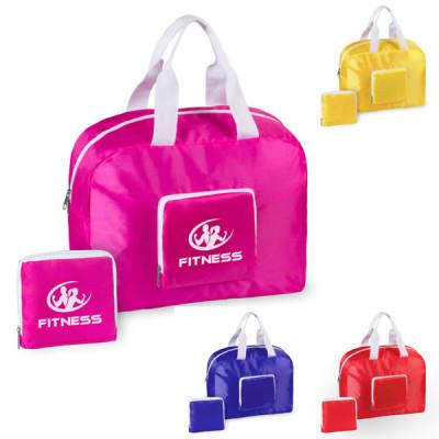 Sac de sport personnalisé pour salle de fitness bleu rouge rose jaune