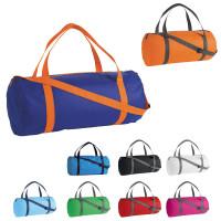 Sac de sport publicitaire coloris noir, blanc, bleu, bleu ciel, bleu royal, orange, rouge, rose vert