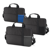 Sacoche ordianteur personnalisable avec porte-documents personnalisé