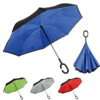 Parapluie inversé publicitaire personnalisé