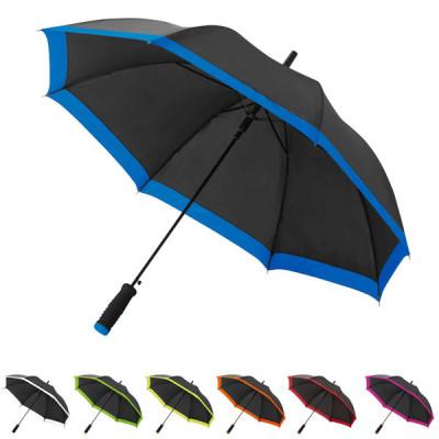 Parapluie personnalisé publicitaire bicolore ouverture automatique pas cher