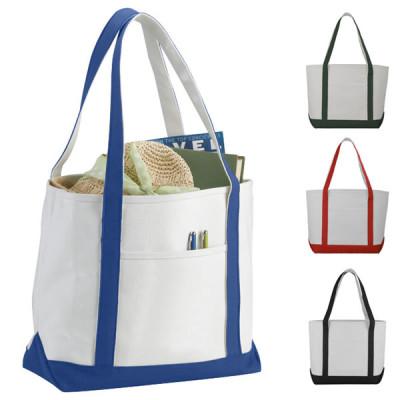 Grand tote bag personnalisé en coton, robuste très solide publicitaire