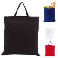 Tote bag coton couleur personnalisé publicitaire Sac shopping