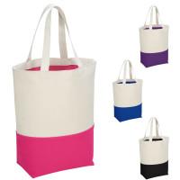 Tote bag coton haute qualité personnalisé publicitaire et bicolore