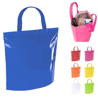 Tote bag shopping isotherme personnalisable pas cher publicitaire blanc, bleu, jaune, rouge, vert,, orange, rose