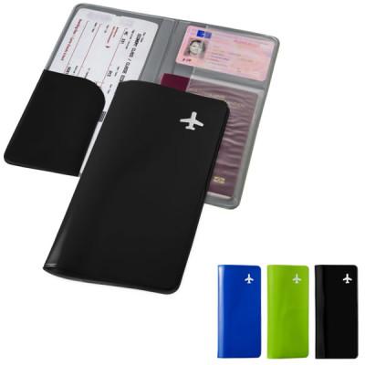Portefeuille de voyage protège passeport billet Objet publicitaire goodies